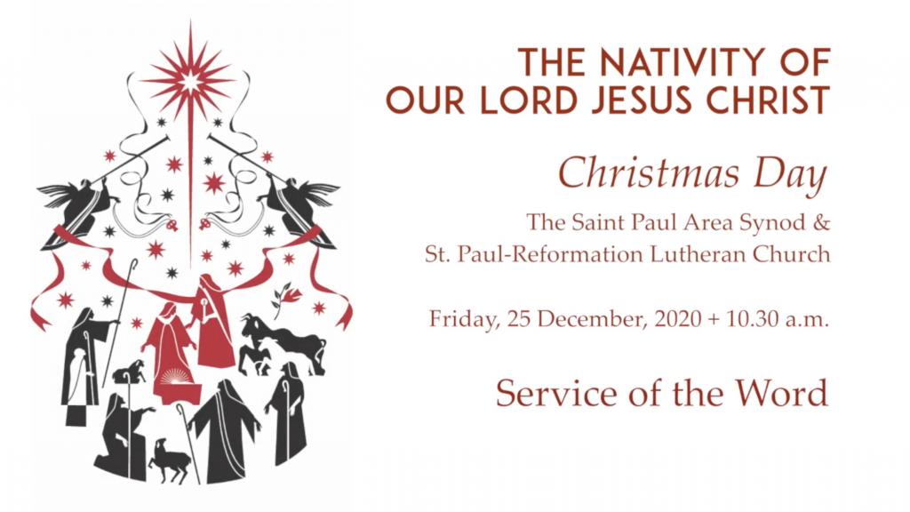 Christmas – St Paul Area Synod – December 25