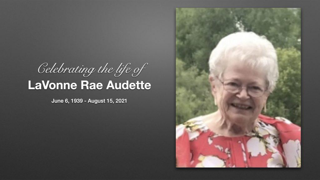 LaVonne Audette – Memorial Service